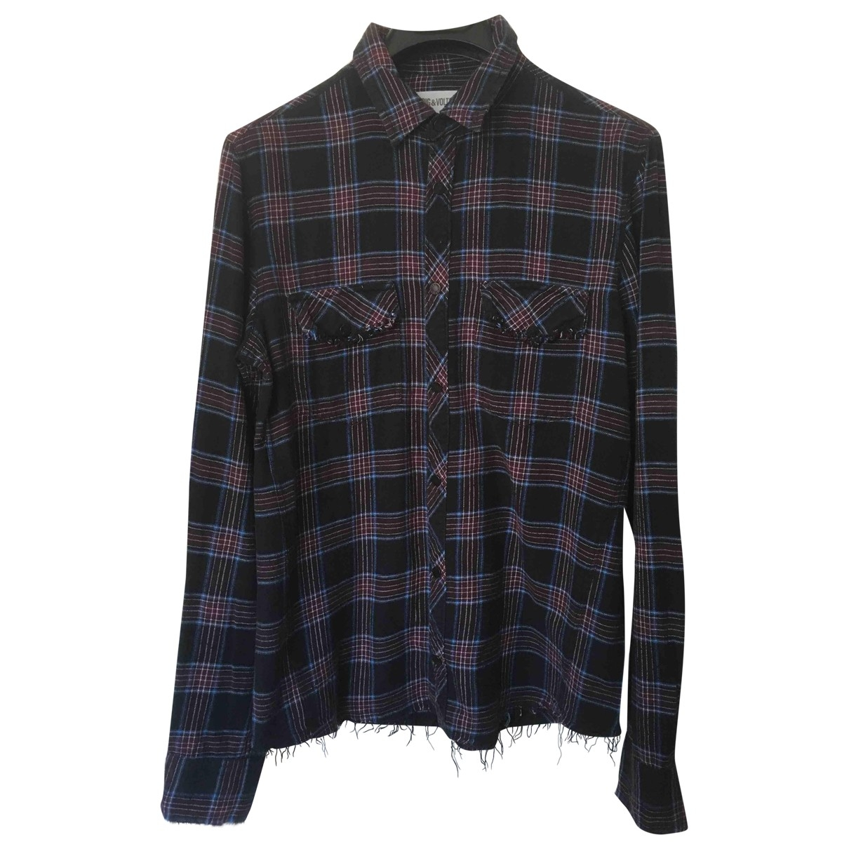 Zadig & Voltaire \N Multicolour Cotton Shirts for Men M International