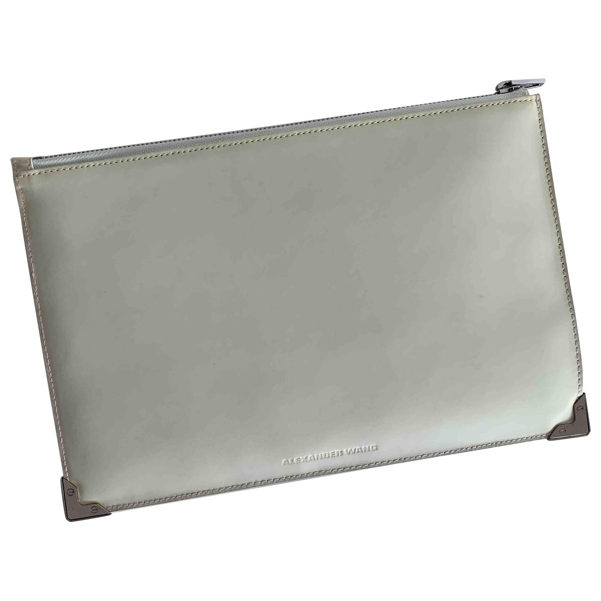 Alexander Wang \N White Leather Clutch bag for Women \N