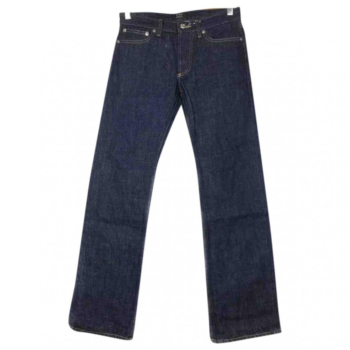 Apc \N Blue Cotton - elasthane Jeans for Women 26 US