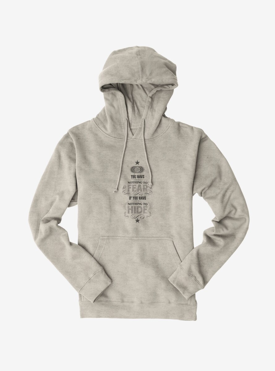 Harry Potter Nothing To Fear Quote Hoodie