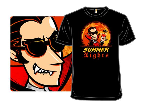 Vampire Summer T Shirt