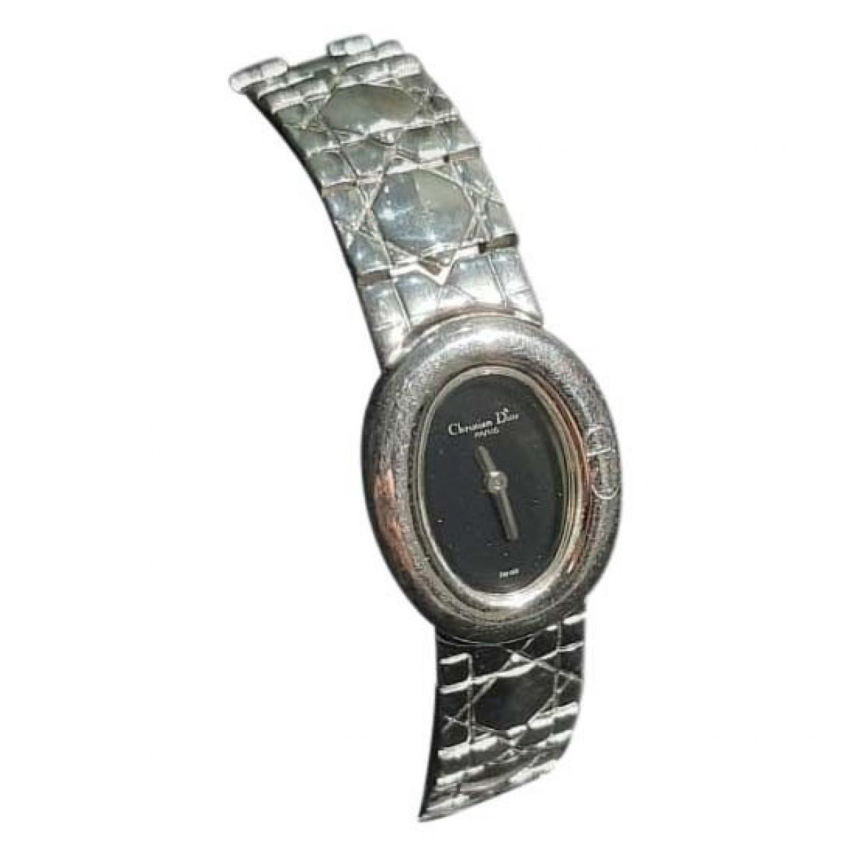 Dior \N Uhr in  Silber Weissgold
