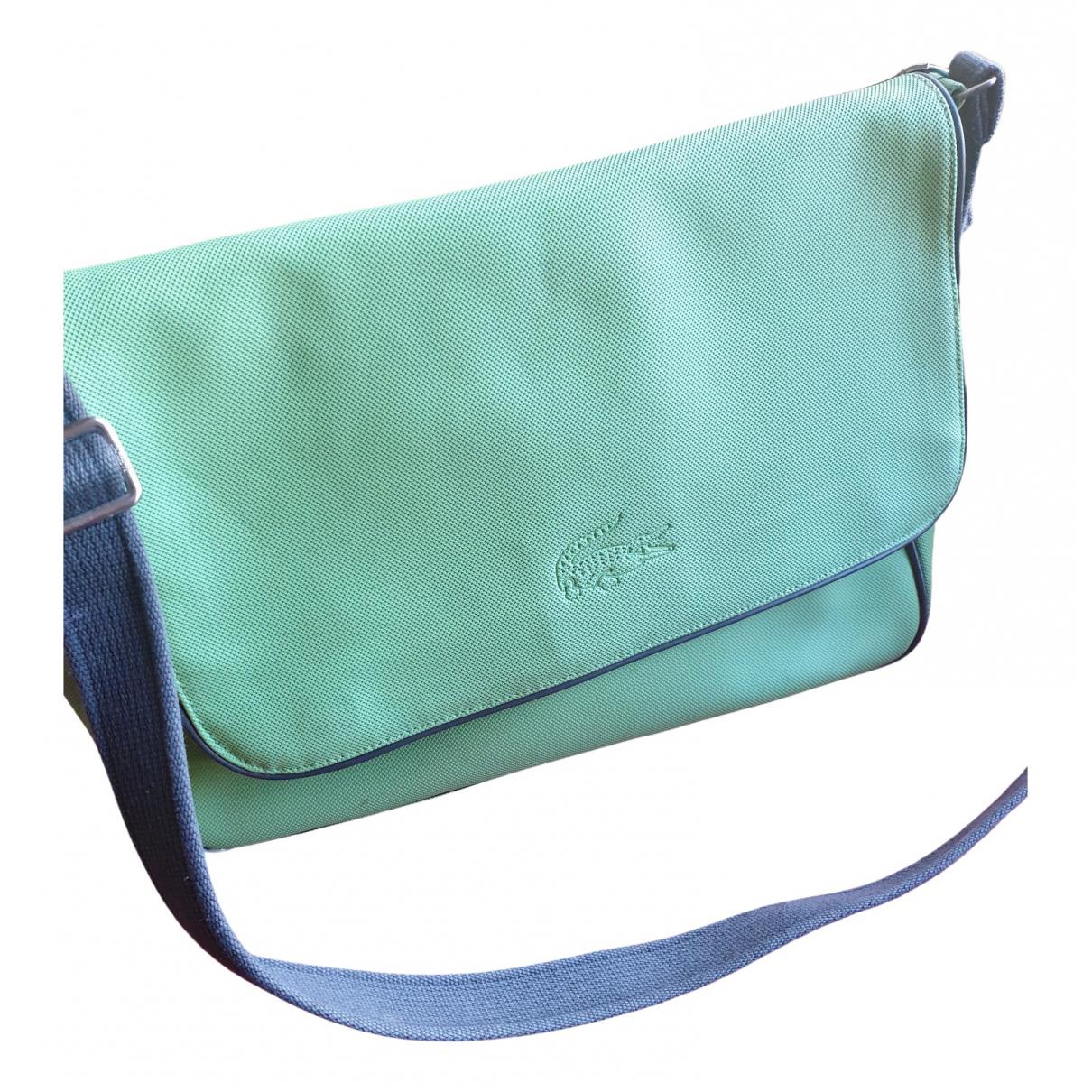 Lacoste \N Green Cloth handbag for Women \N