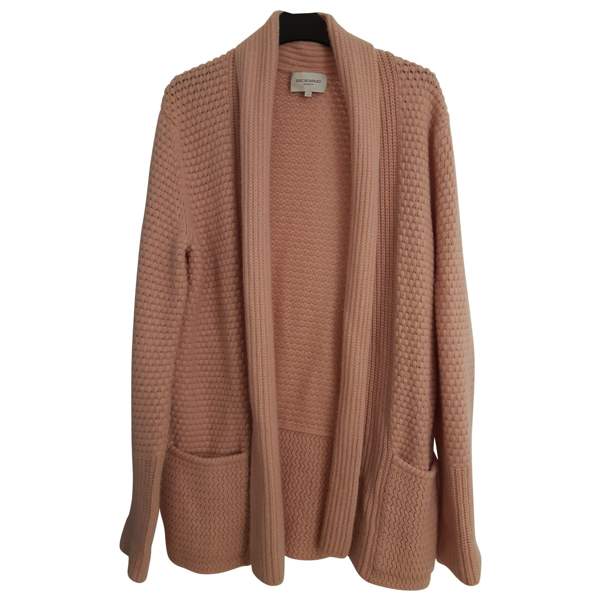 Eric Bompard \N Pink Cashmere Knitwear for Women 40 FR