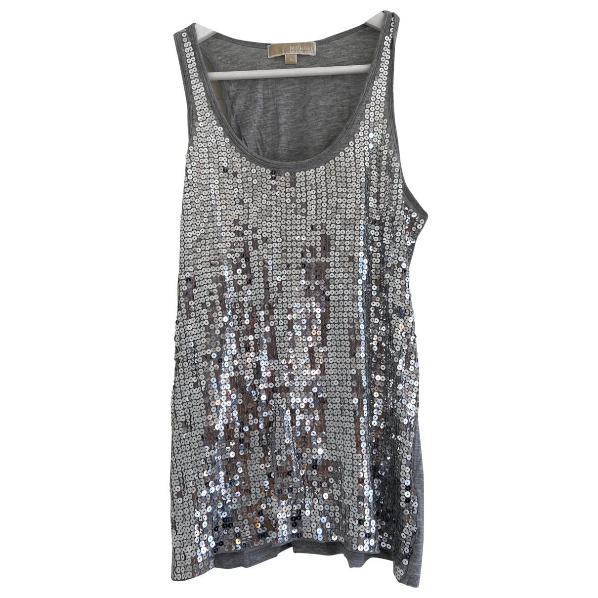 Michael Kors - Top   pour femme - gris