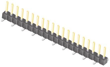 Samtec , TSM, 20 Way, 1 Row, Straight Pin Header