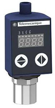 Telemecanique Sensors Pressure Sensor for Various Media , 10bar Max Pressure Reading Analogue