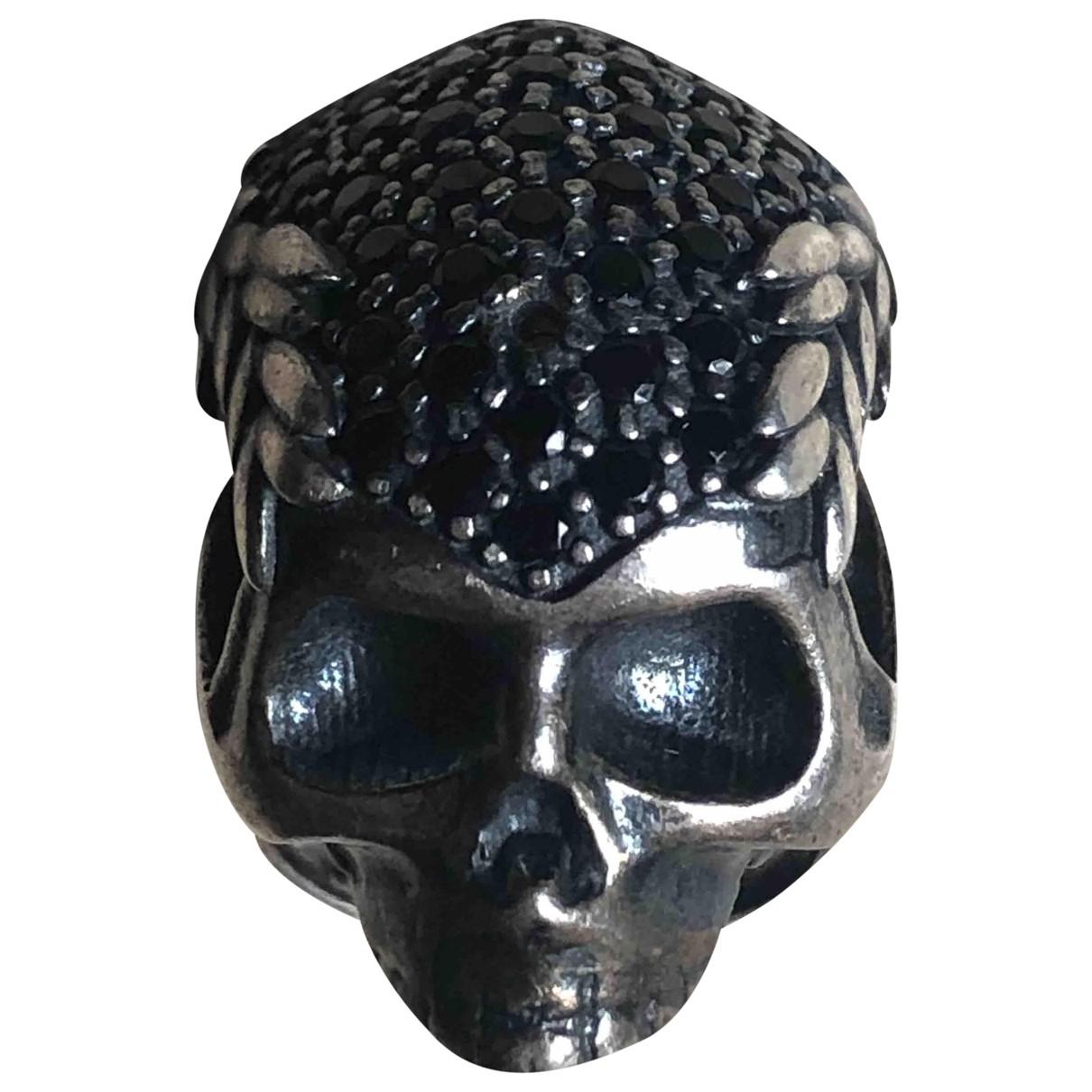 Vivienne Westwood - Bijoux   pour homme en argent - noir
