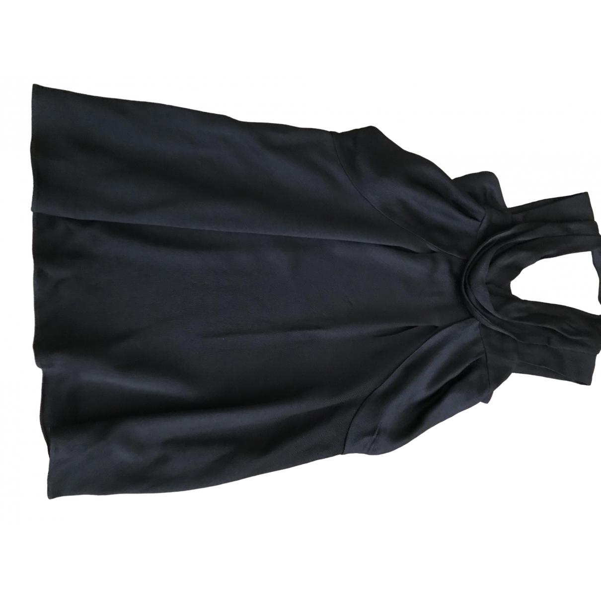 Vanessa Bruno \N Kleid in  Schwarz Viskose