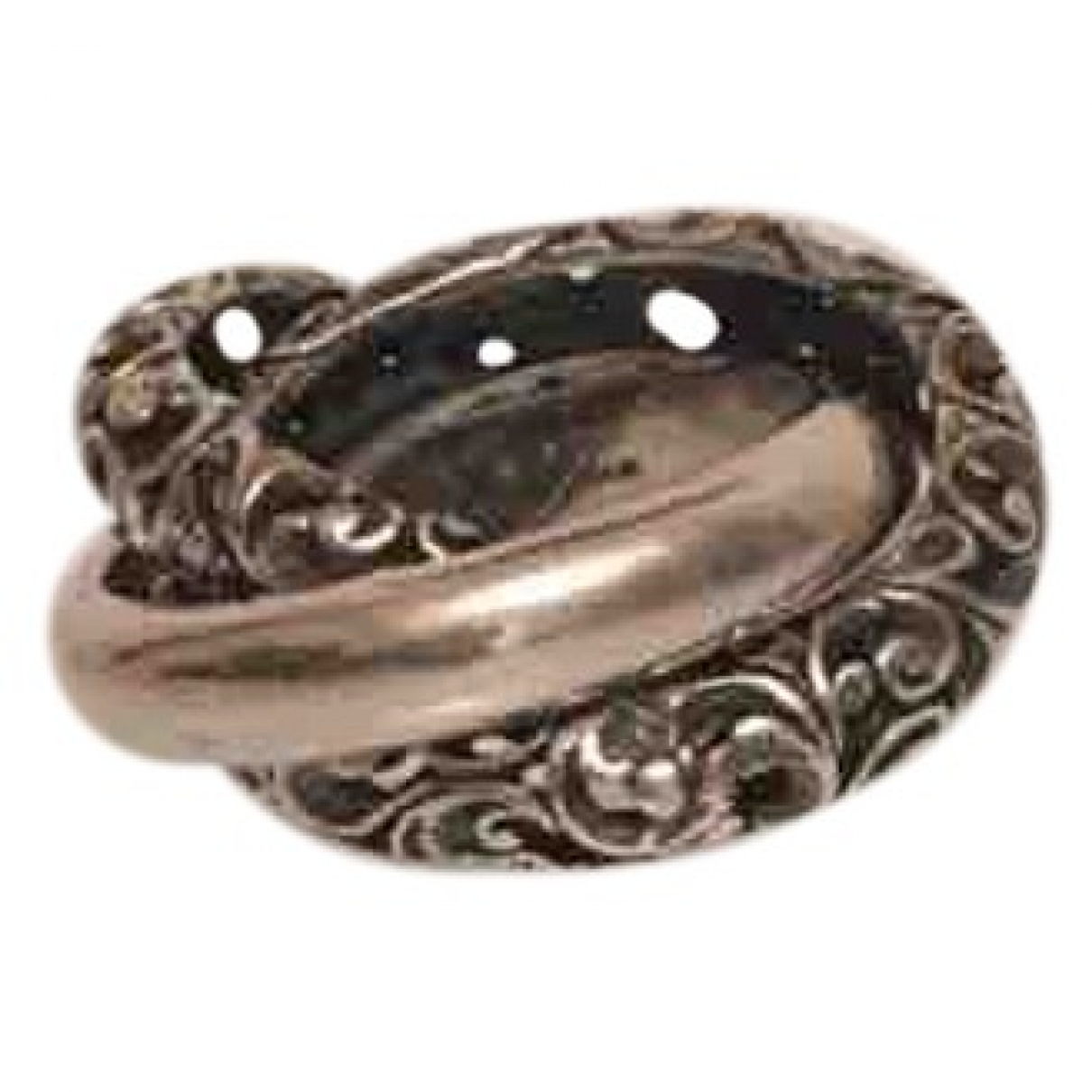 Maria Luisa \N Ring in  Silber Silber