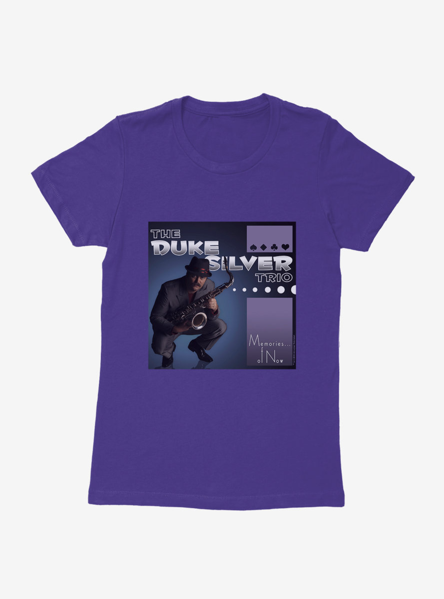 Parks And Recreation The Duke Silver Trio CD Womens T-Shirt