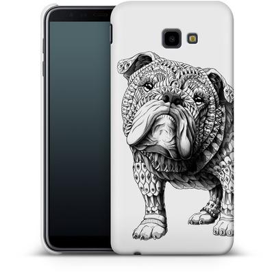 Samsung Galaxy J4 Plus Smartphone Huelle - English Bulldog von BIOWORKZ