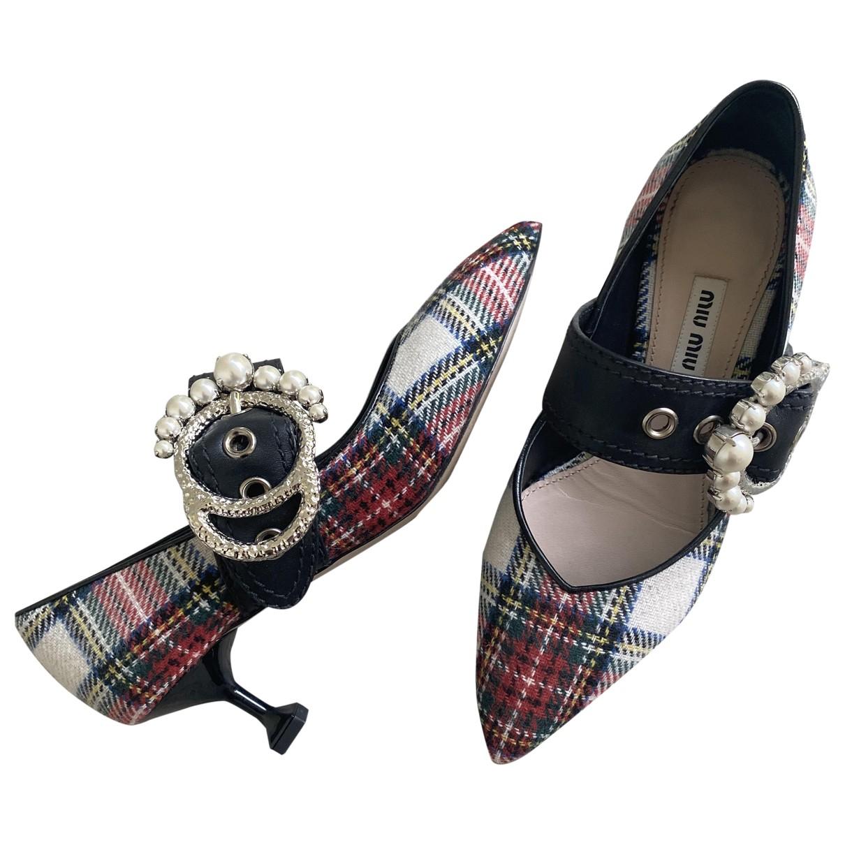 Miu Miu \N Tweed Heels for Women 36 EU
