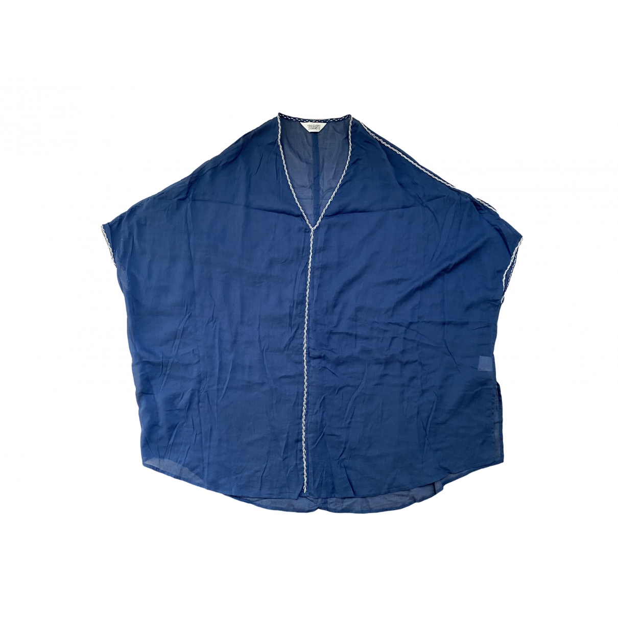 Toast \N Badeanzug in  Blau Baumwolle