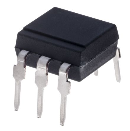 Isocom , MOC3011 AC Input Triac Output Optocoupler, Through Hole, 6-Pin DIP (65)
