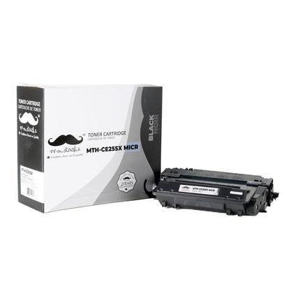 Compatible HP 55X CE255X MICR cartouche de toner noire - Moustache®