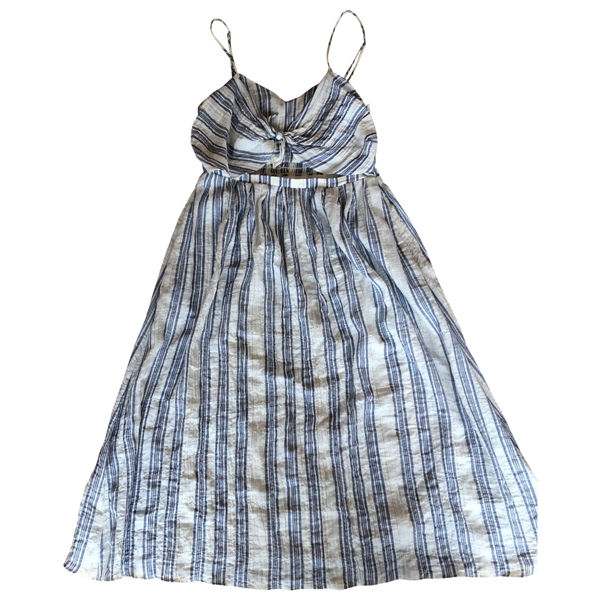 Love Shack Fancy \N White Cotton dress for Women L International