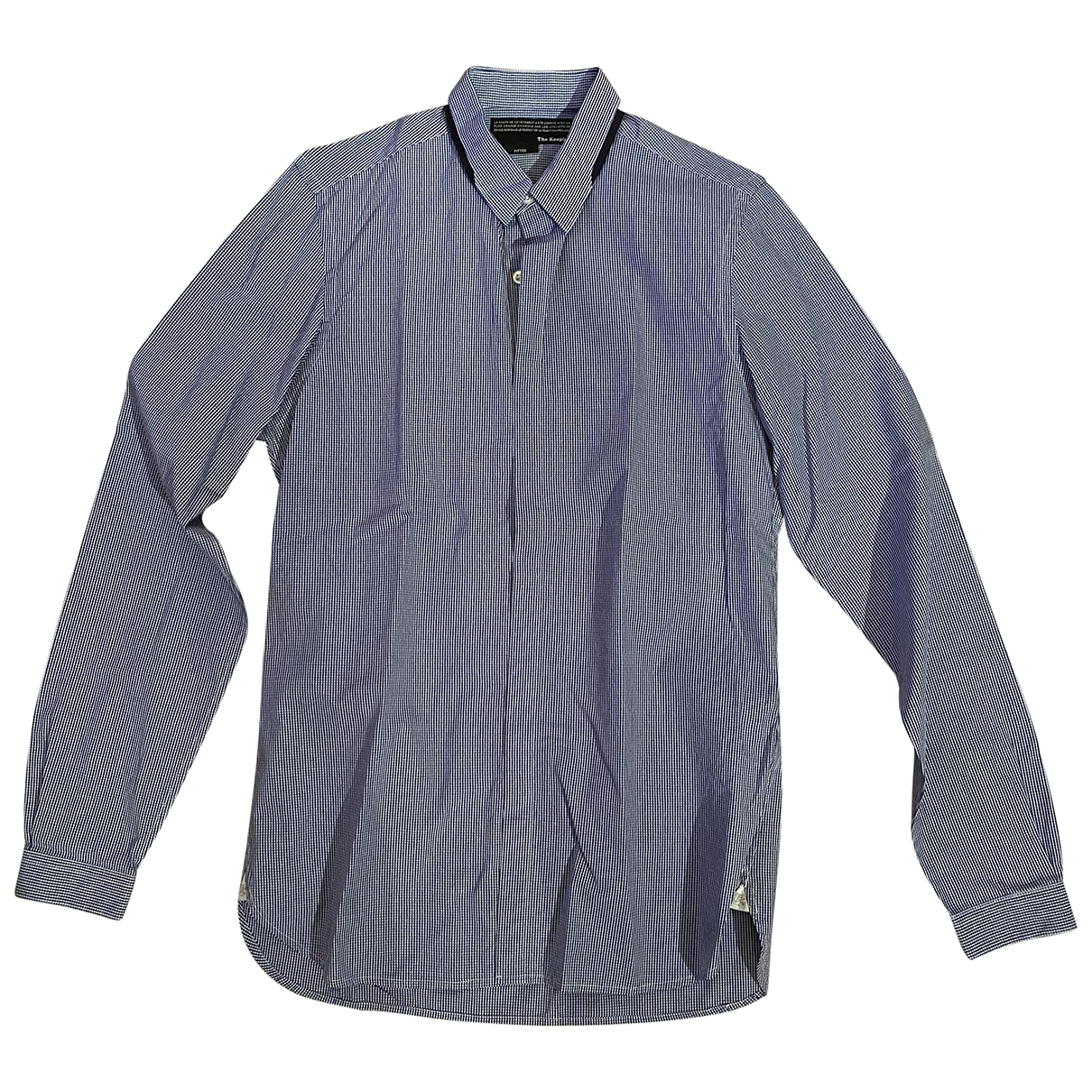 The Kooples \N Blue Cotton Shirts for Men S International