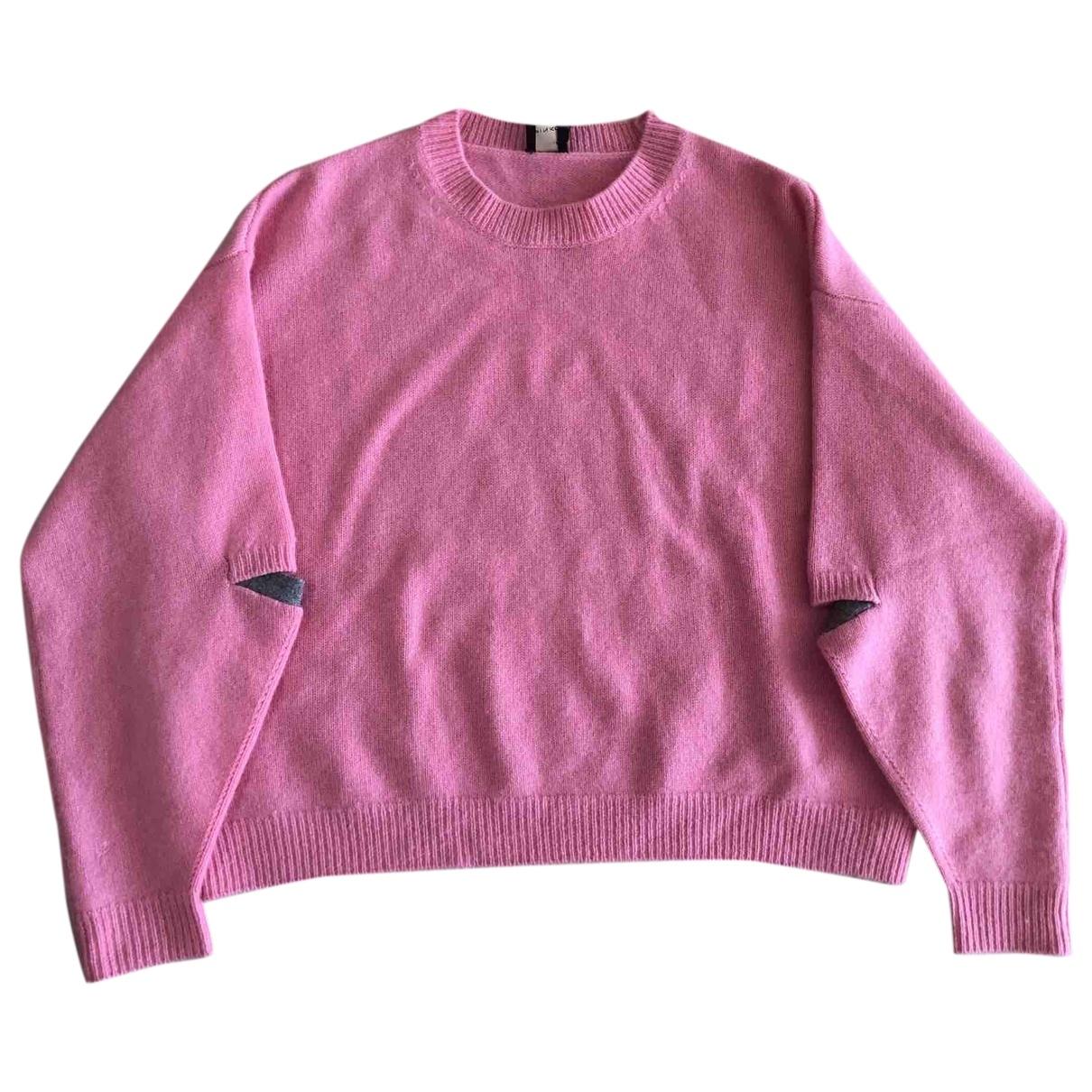 Pinko \N Pullover in  Rosa Kaschmir
