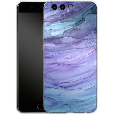 Huawei P10 Silikon Handyhuelle - Mermaid Marble von Becky Starsmore