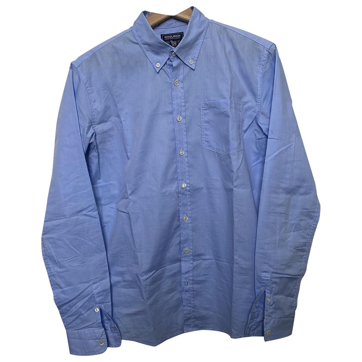 Woolrich \N Oberteile in  Blau Baumwolle