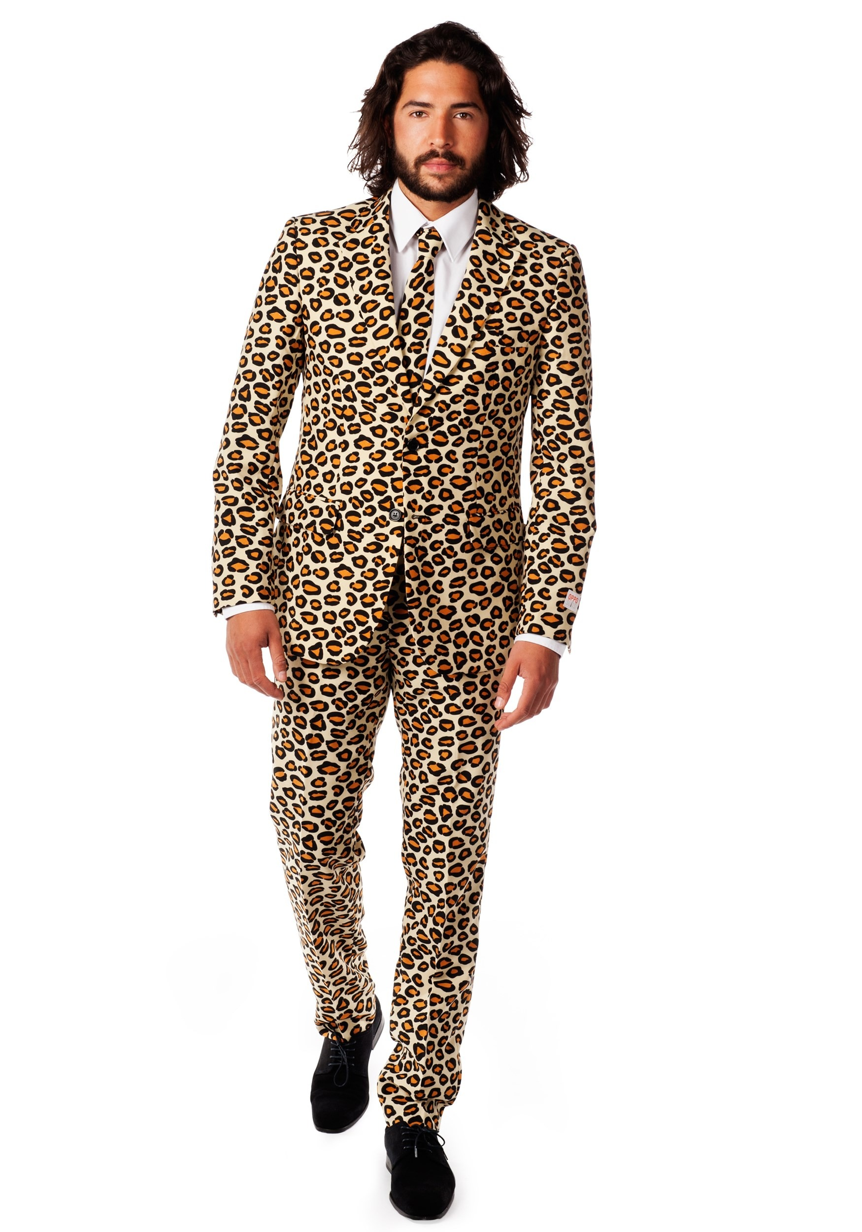 Men's Jaguar Print Suit OppoSuits Costume