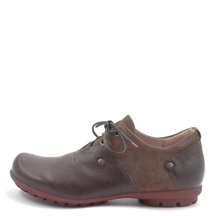 Think, 00142 Kong Men's Lace-up Shoes, dark brown Größe 44