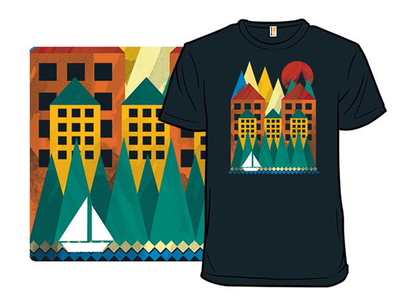 Abstract World T Shirt