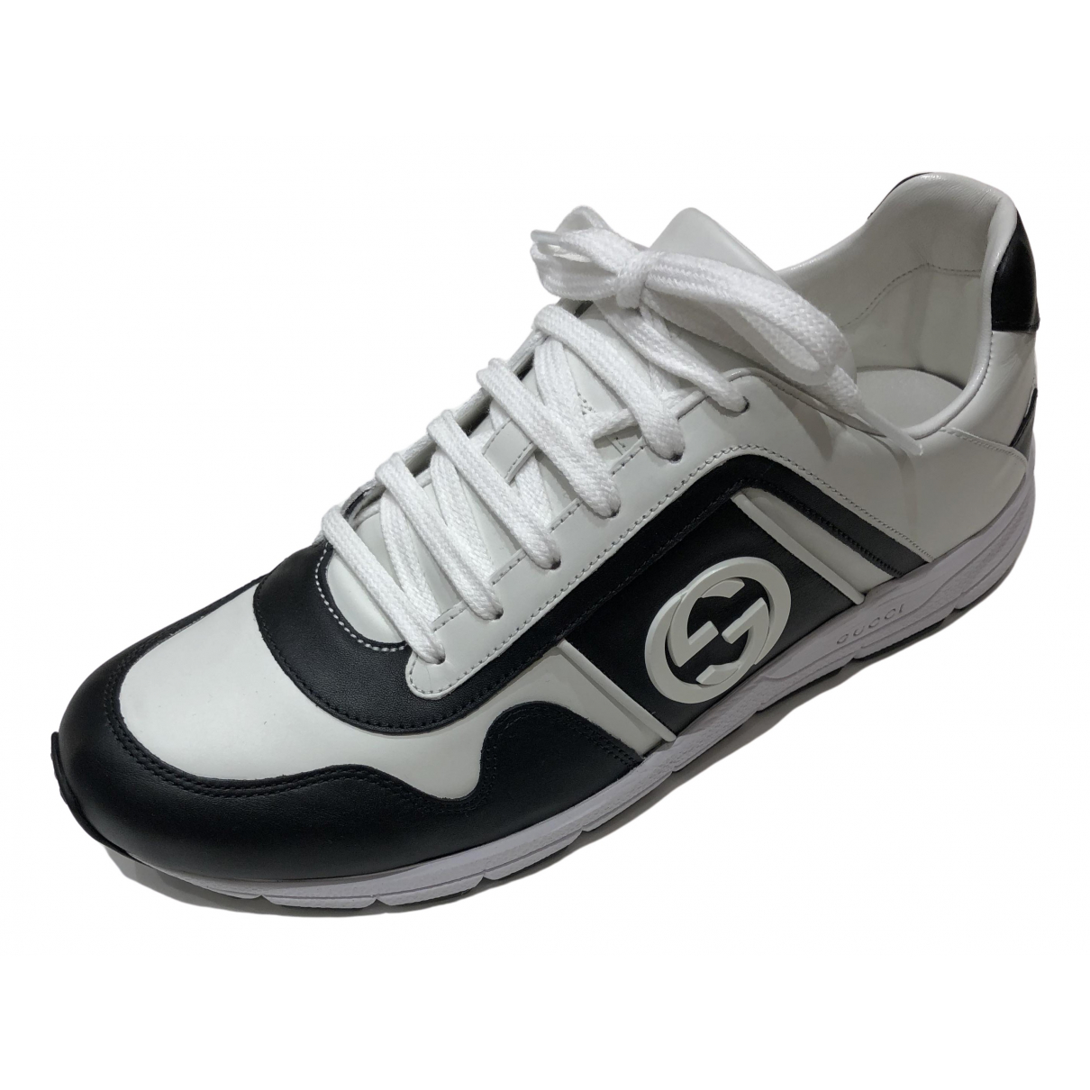 Gucci \N White Leather Trainers for Men 9 US