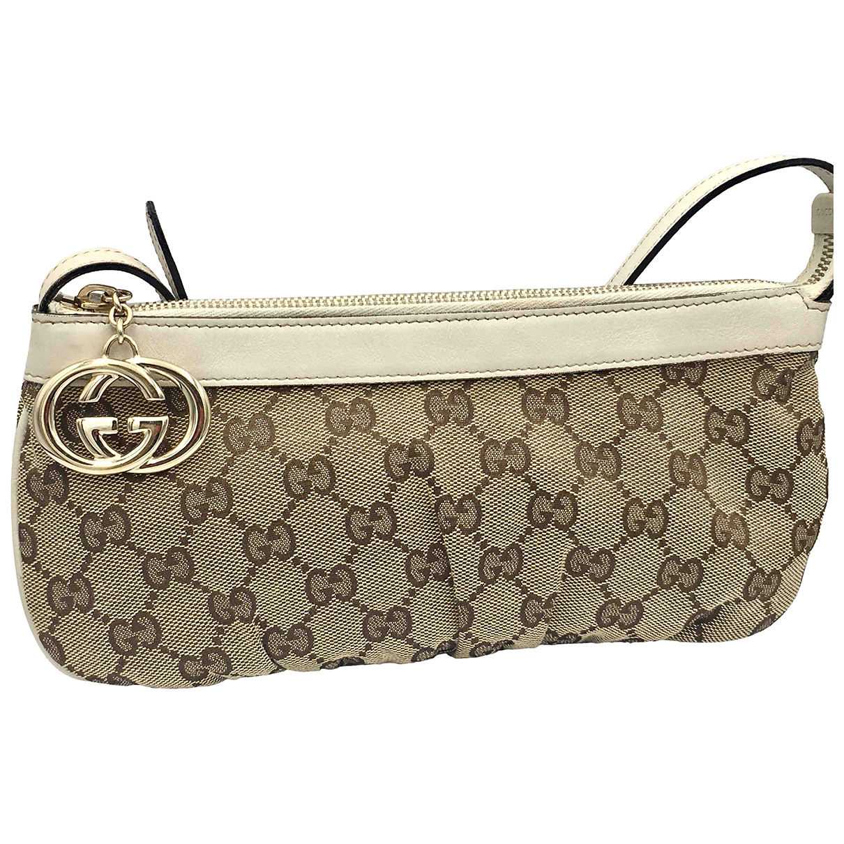 Gucci N Beige Cotton handbag for Women N