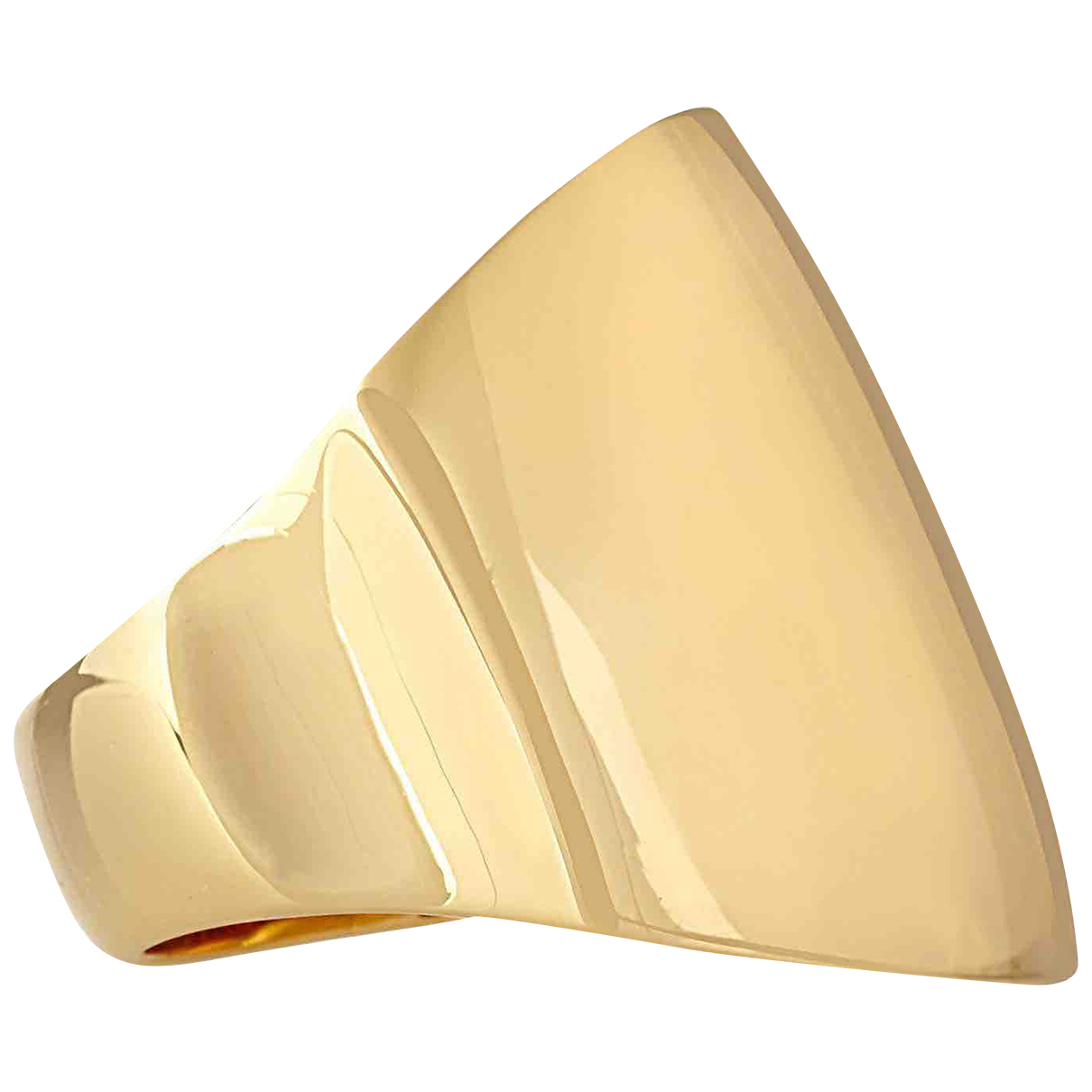Maiyet - Bague   pour femme en plaque or - dore