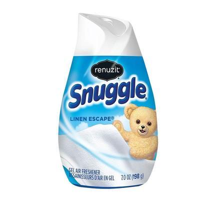 Renuzit Snuggle Gel Air Freshener, Linen Escape