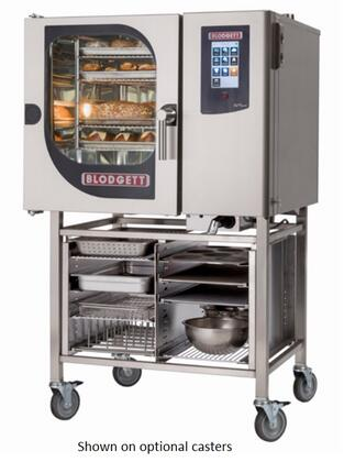 BLCT61E Single Electric Boilerless Combination Oven/Steamer with Touchscreen Control  Multiple cooking modes and Self cleaning system. Capacity: 5