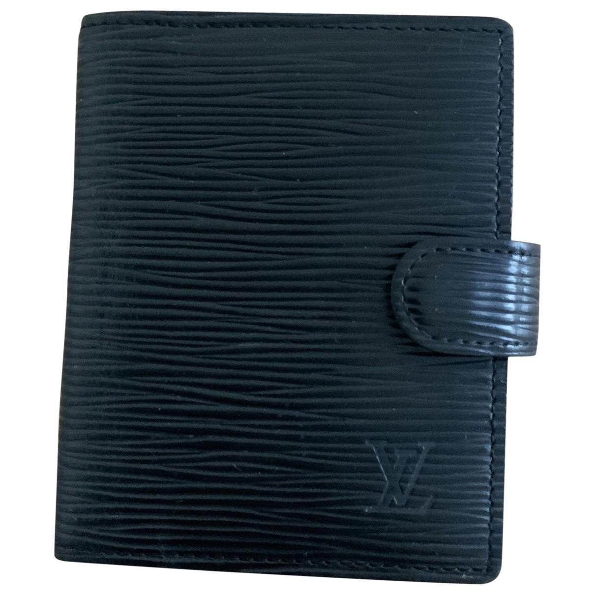 Louis Vuitton - Objets & Deco Couverture dagenda PM pour lifestyle en cuir - noir