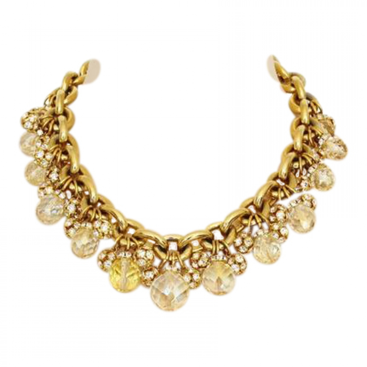 Carlo Zini \N Yellow gold necklace for Women \N