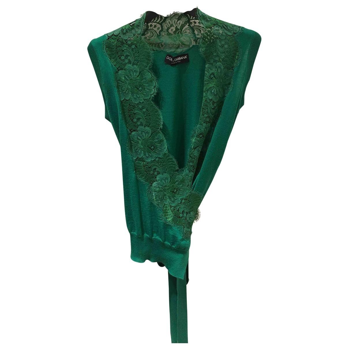 Dolce & Gabbana \N Pullover in  Gruen Wolle