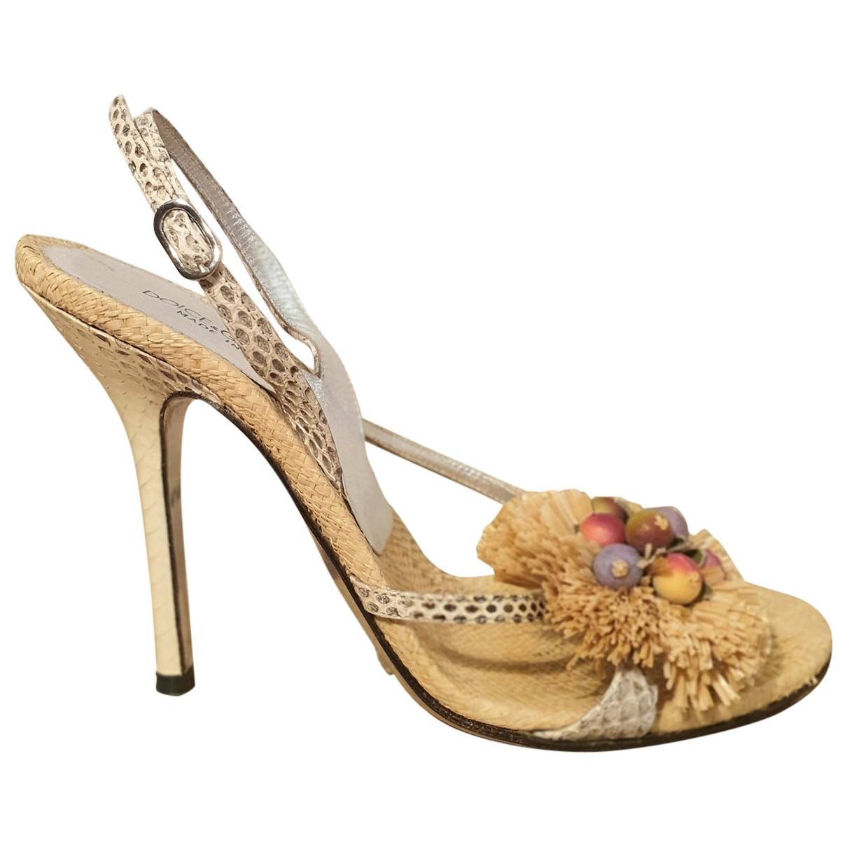 Sandalias Dolce & Gabbana