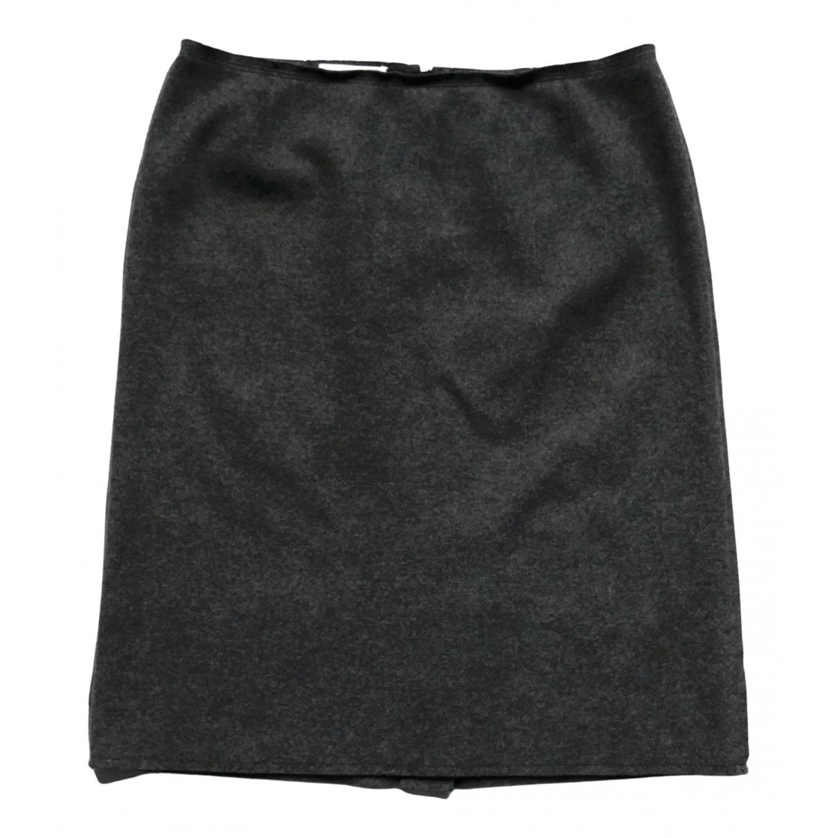 Prada - Jupe   pour femme en laine - gris