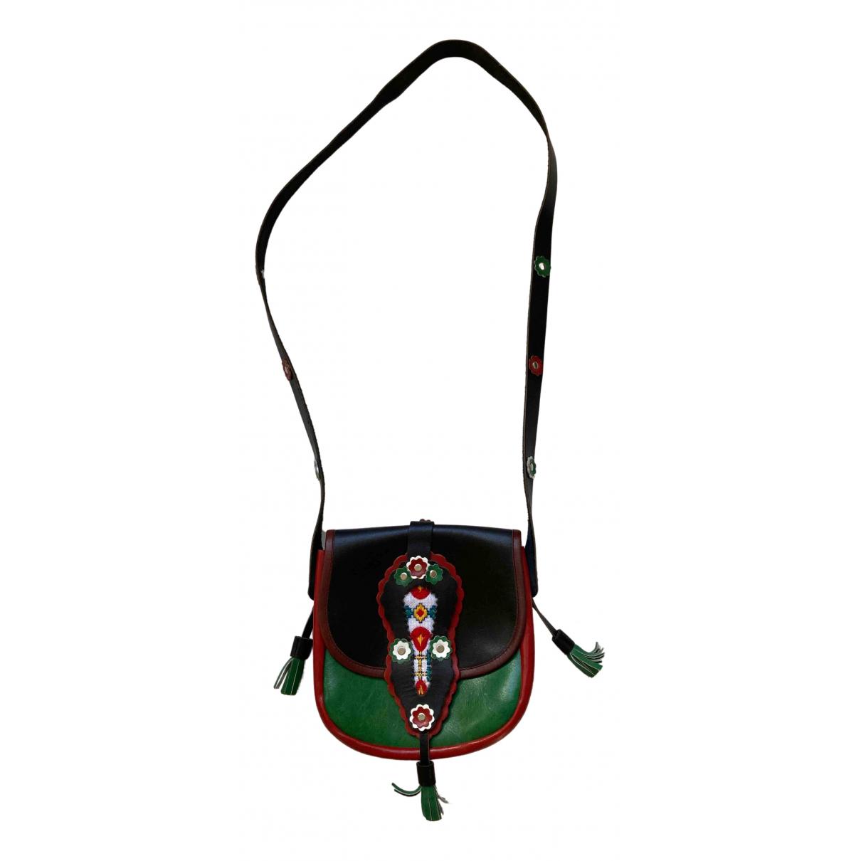 Kenzo \N Black Leather handbag for Women \N