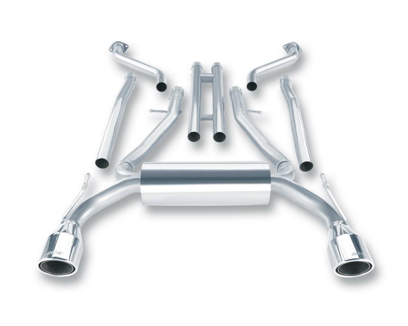 Borla S-Type Cat-Back™ Exhaust System Infiniti G37 2008-2013 3.7L V6