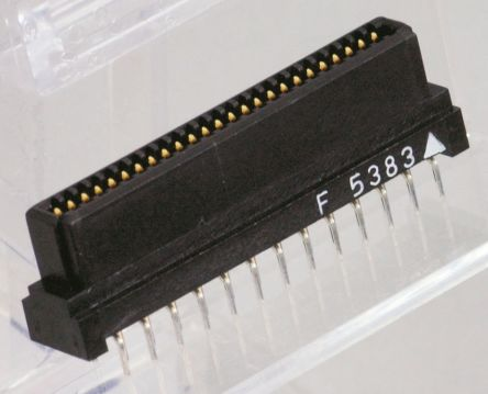 KEL Corporation , 8800 2.54mm Pitch 20 Way 2 Row Straight PCB Socket, Through Hole, Solder Termination
