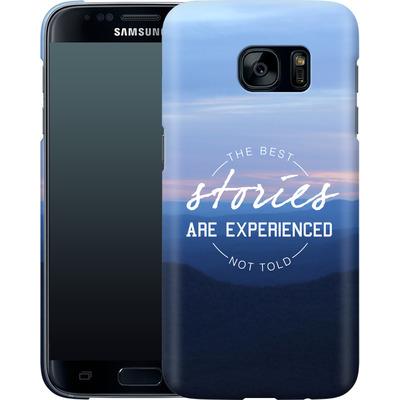 Samsung Galaxy S7 Smartphone Huelle - Stories von Statements