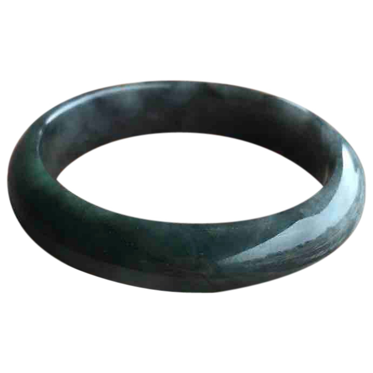 Non Signe / Unsigned \N Armband in  Blau Jade
