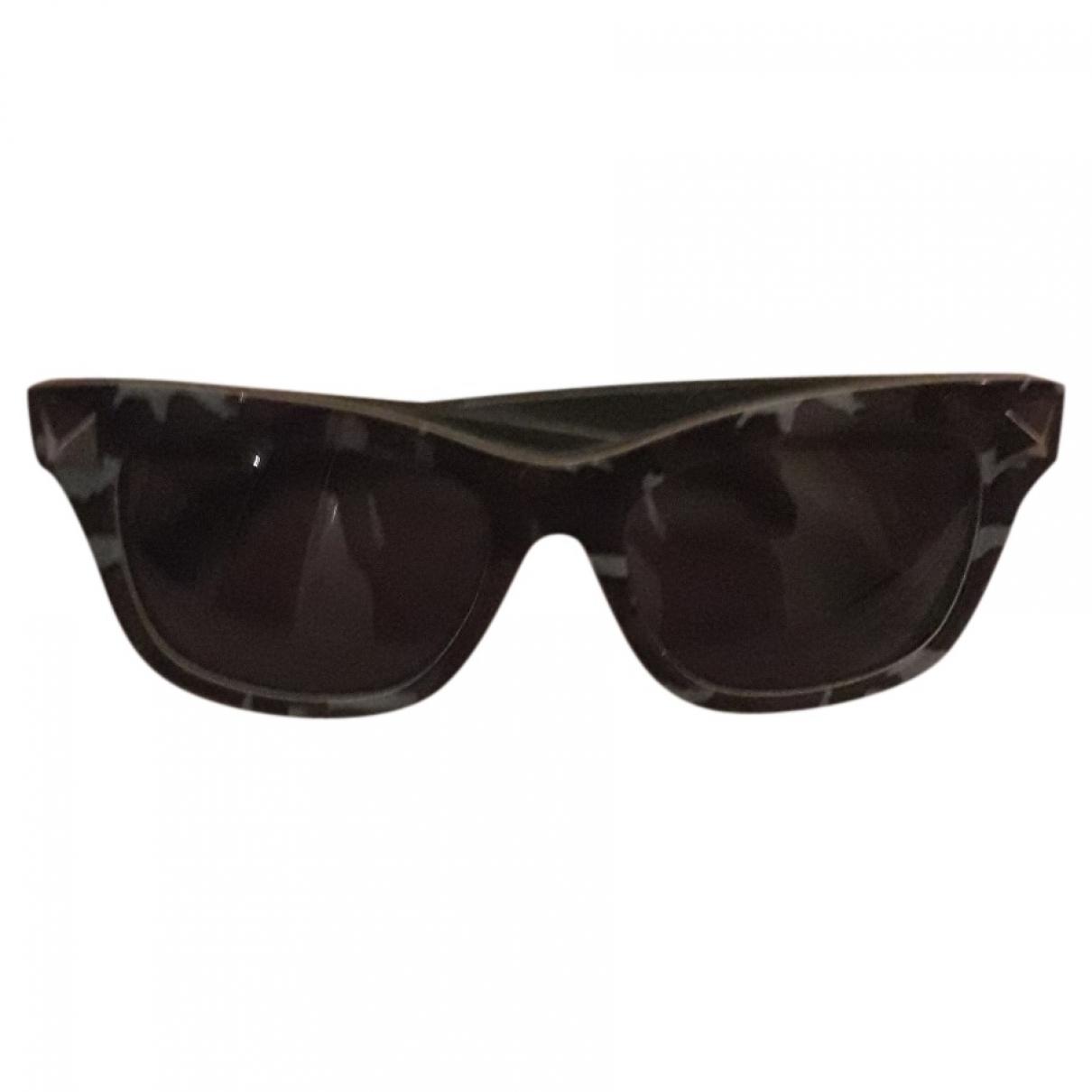 Valentino Garavani \N Sonnenbrillen in  Schwarz Kunststoff