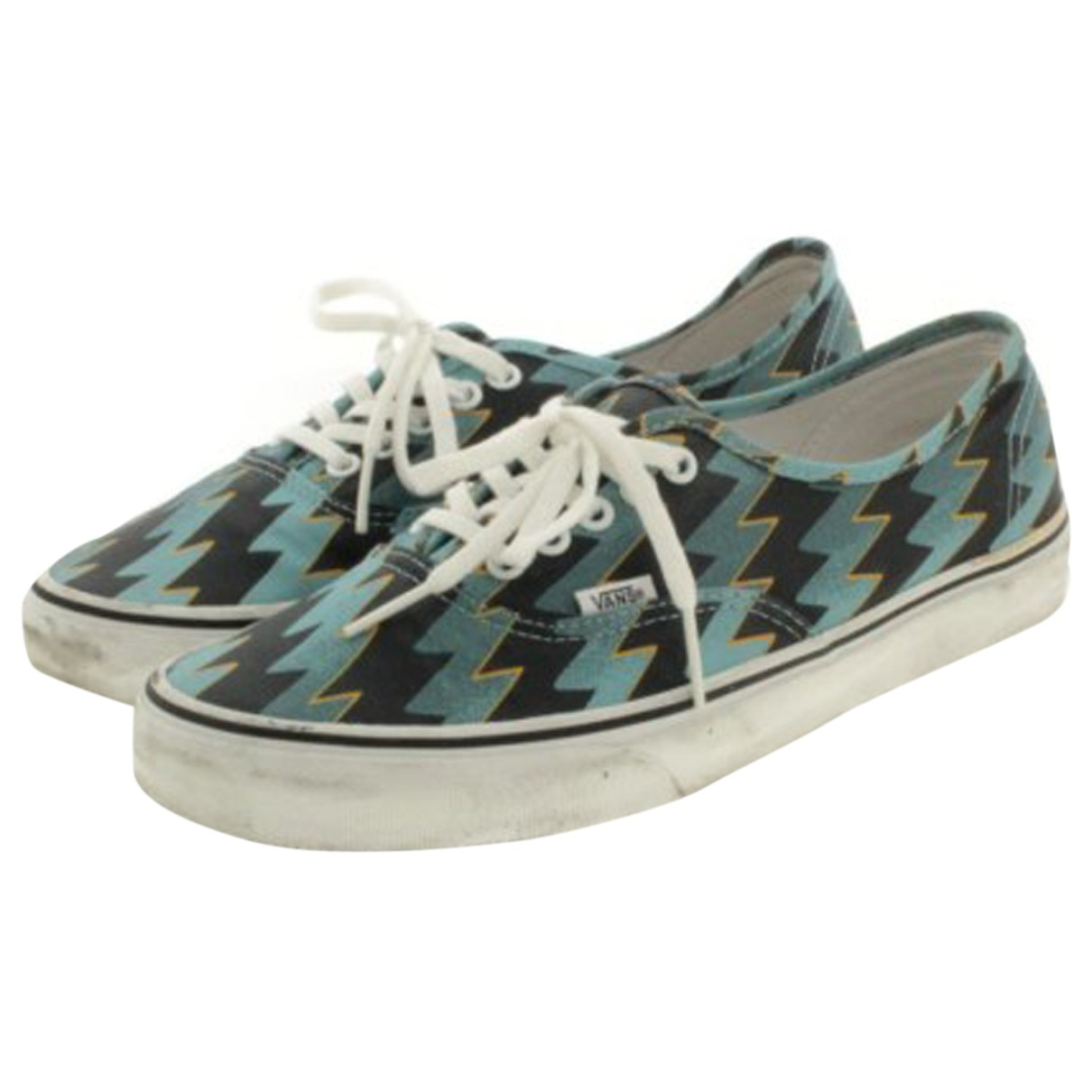 Vans \N Sneakers in  Blau Leinen
