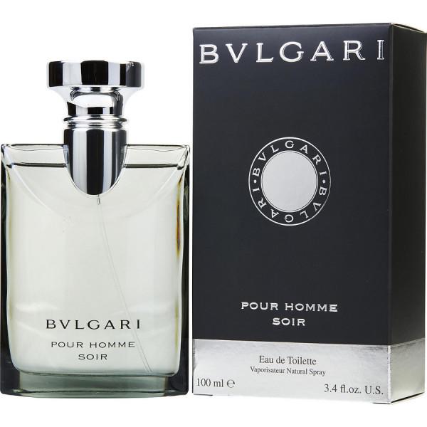 Bvlgari Pour Homme Soir - Bvlgari Eau de toilette en espray 100 ML