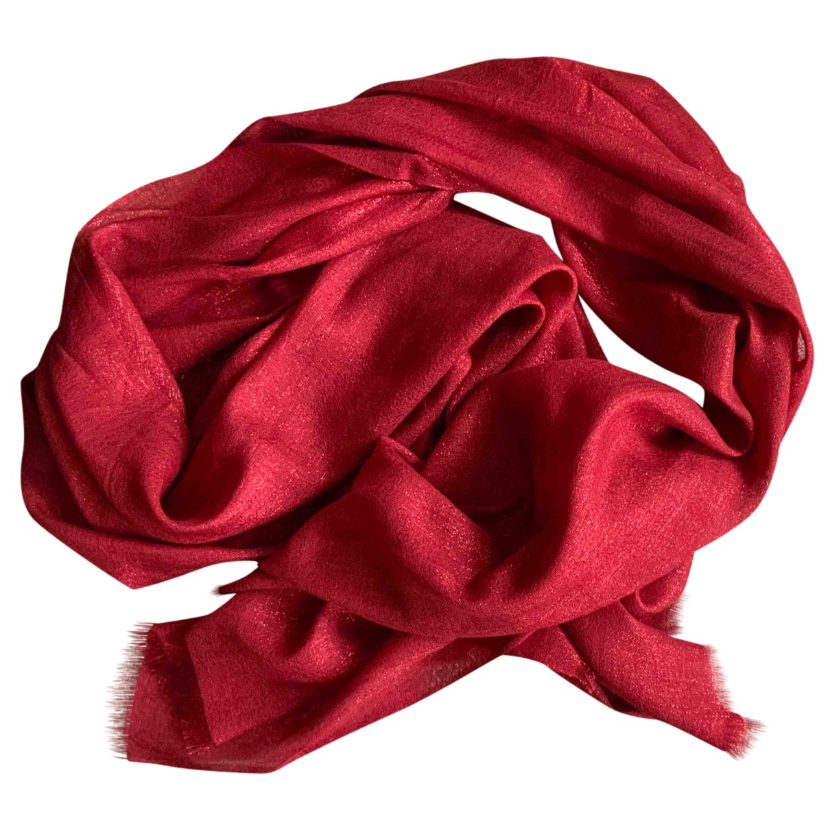Brunello Cucinelli N Red Cashmere scarf for Women N