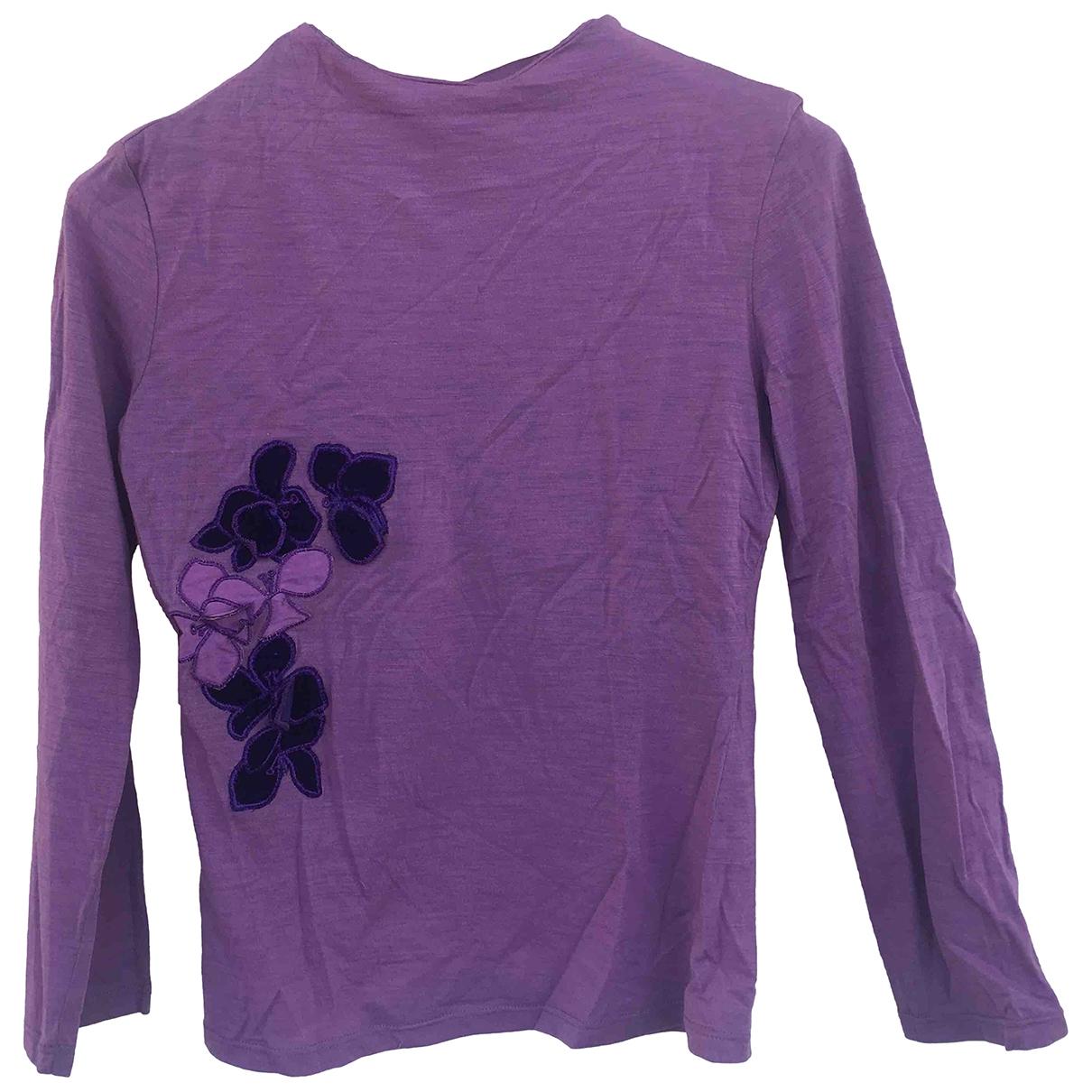 Versus \N Purple  top for Women 40 IT