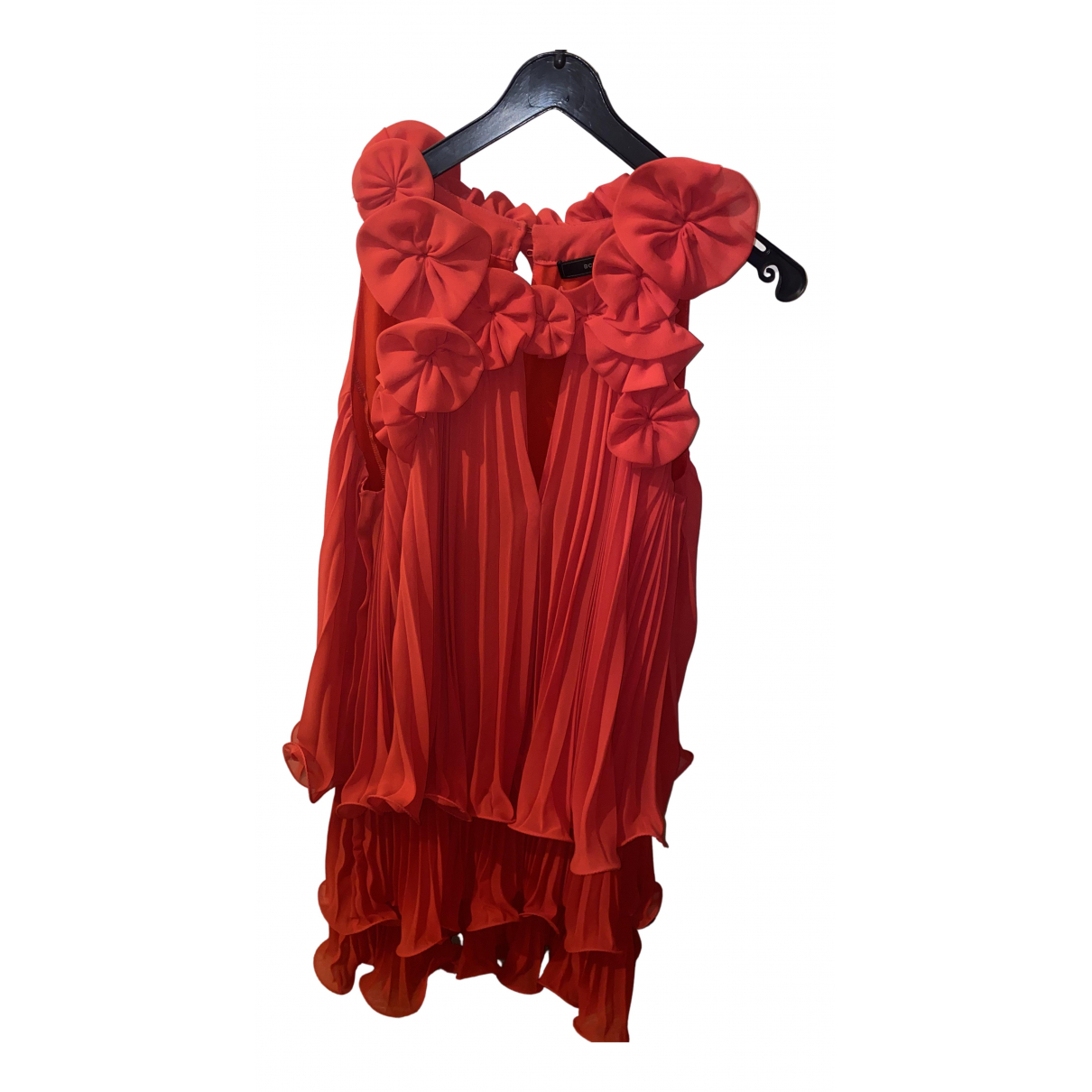 Bcbg Max Azria \N Kleid in  Rot Baumwolle - Elasthan