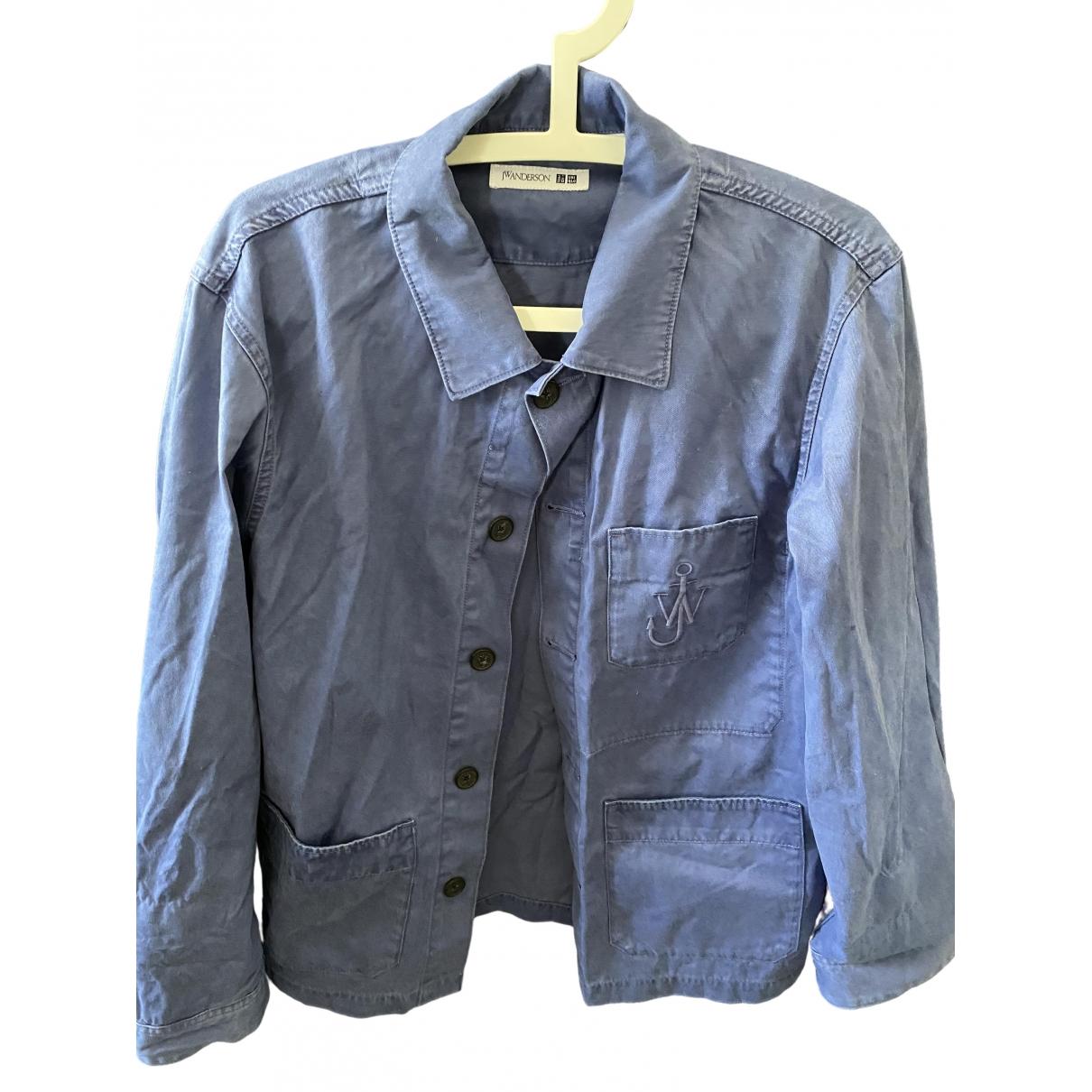 Uniqlo \N Blue Cotton jacket  for Men XL International